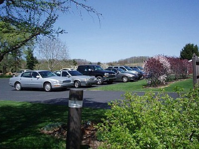 A picture of the Parking lot at the Office of Dana J. Cope, DMD.
